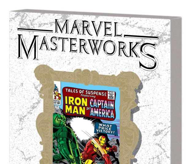 MARVEL MASTERWORKS: THE INVINCIBLE IRON MAN VOL. 3 TPB VARIANT (DM ONLY)
