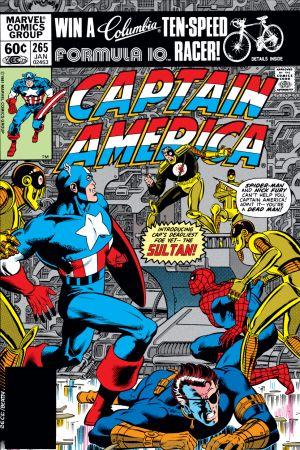 Captain America (1968) #265