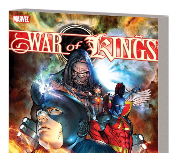WAR OF KINGS TPB (NEW PRINTING)
