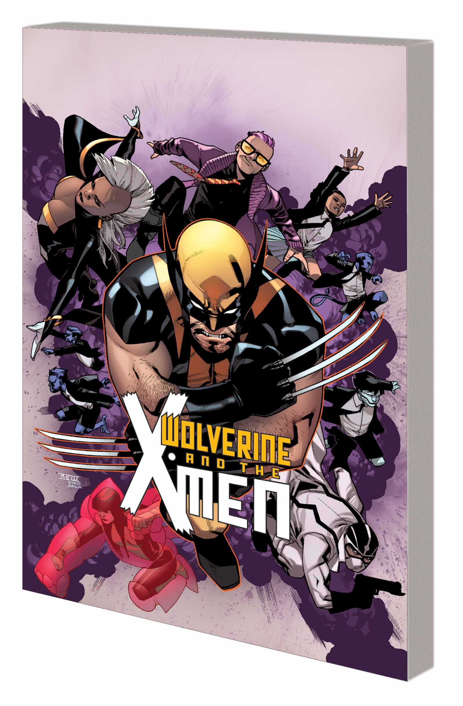 Wolverine & the X-Men Vol. 1: Tomorrow Never Leaves (Trade Paperback)