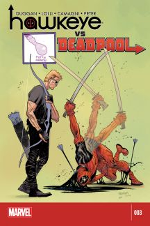 Hawkeye vs Deadpool (2014) #3