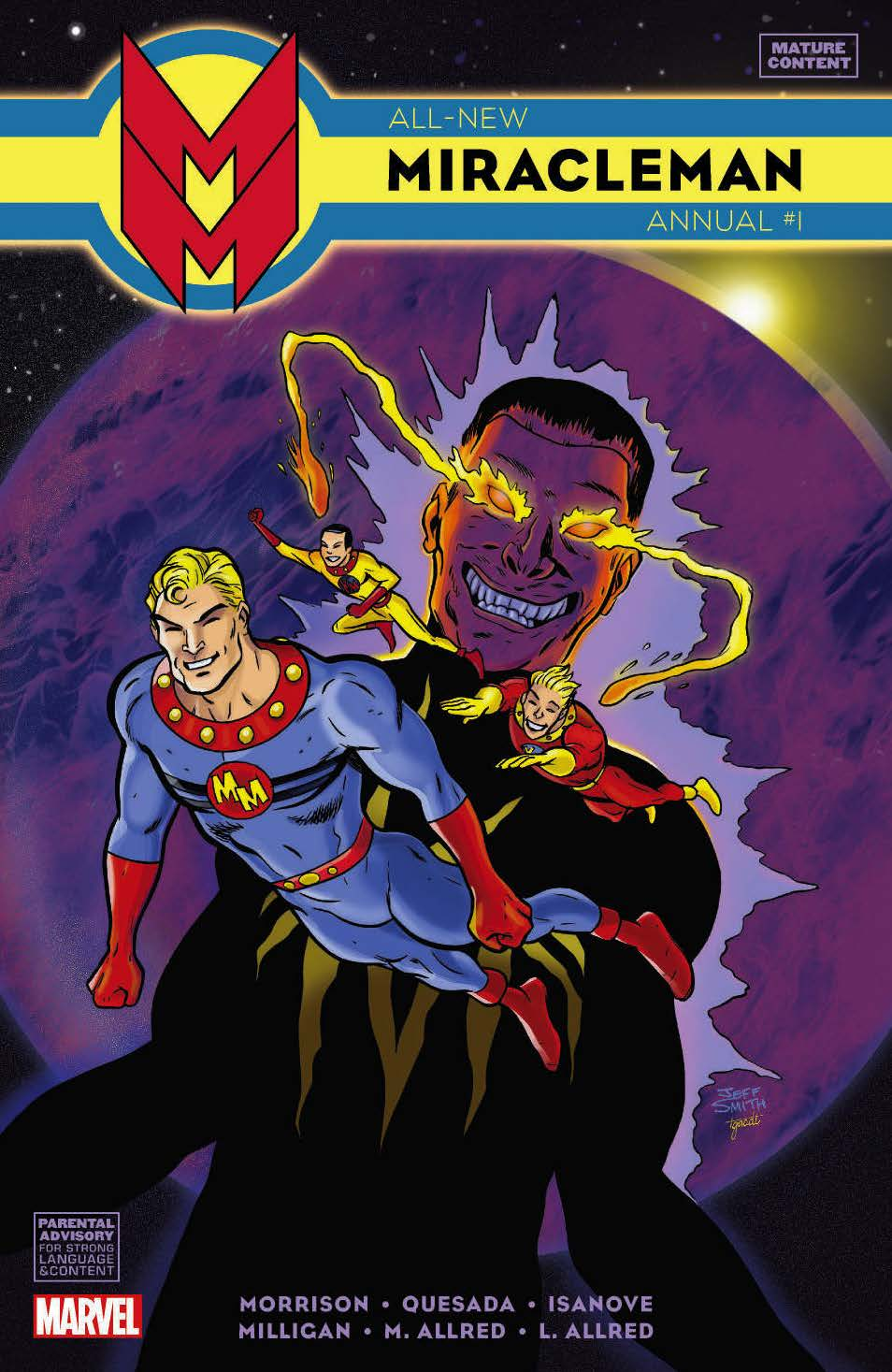 All-New Miracleman Annual (2014) #1 (Smith Variant)