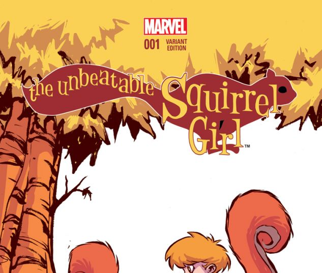 THE UNBEATABLE SQUIRREL GIRL 1 YOUNG VARIANT (WITH DIGITAL CODE)