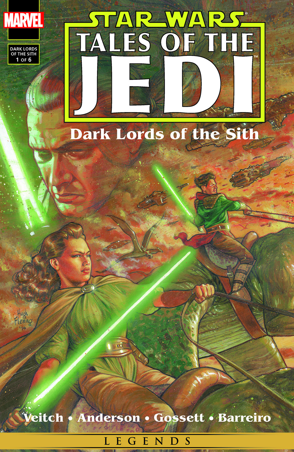 Star Wars: Tales of the Jedi - Dark Lords of the Sith (1994) #1