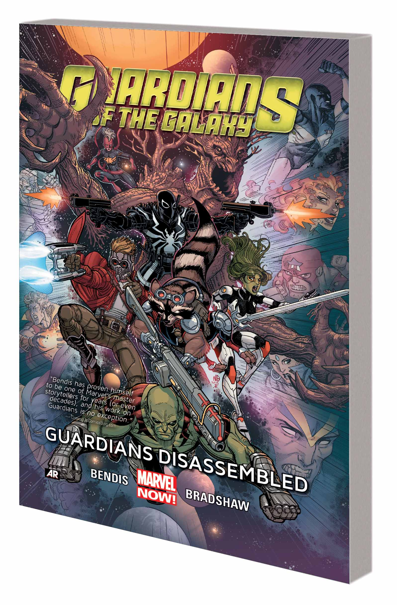 GUARDIANS OF THE GALAXY: GUARDIANS DISASSEMBLED  (Trade Paperback)