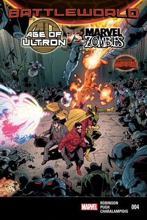 Age of Ultron Vs. Zombies #4