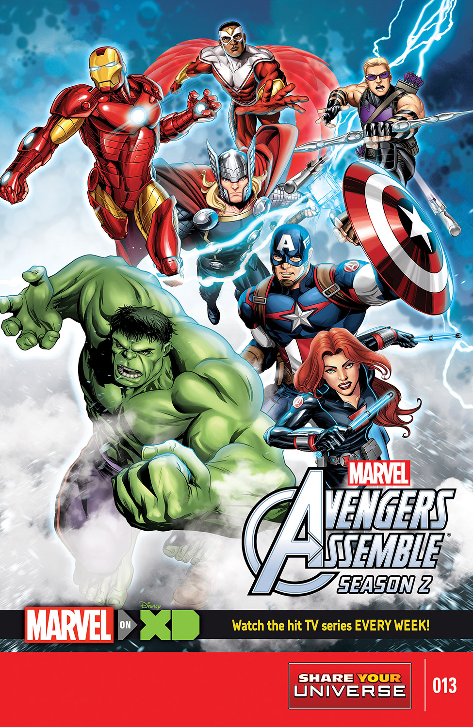 Marvel Universe Avengers Assemble Season Two (2014) #13