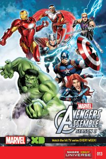 Marvel Universe Avengers Assemble Season Two #13