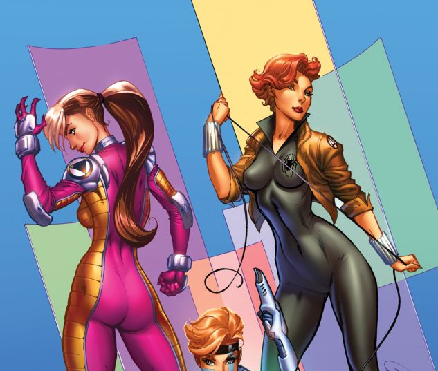 A-Force #1 variant art by J. Scott Campbell