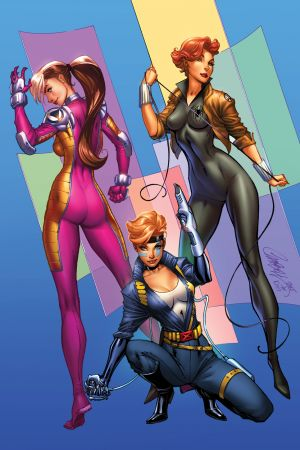 A-Force (2016) #1 (Js Campbell Marvel 92 Variant)