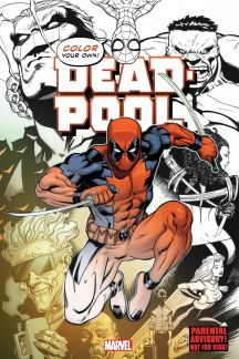 Color Your Own Deadpool (Trade Paperback)