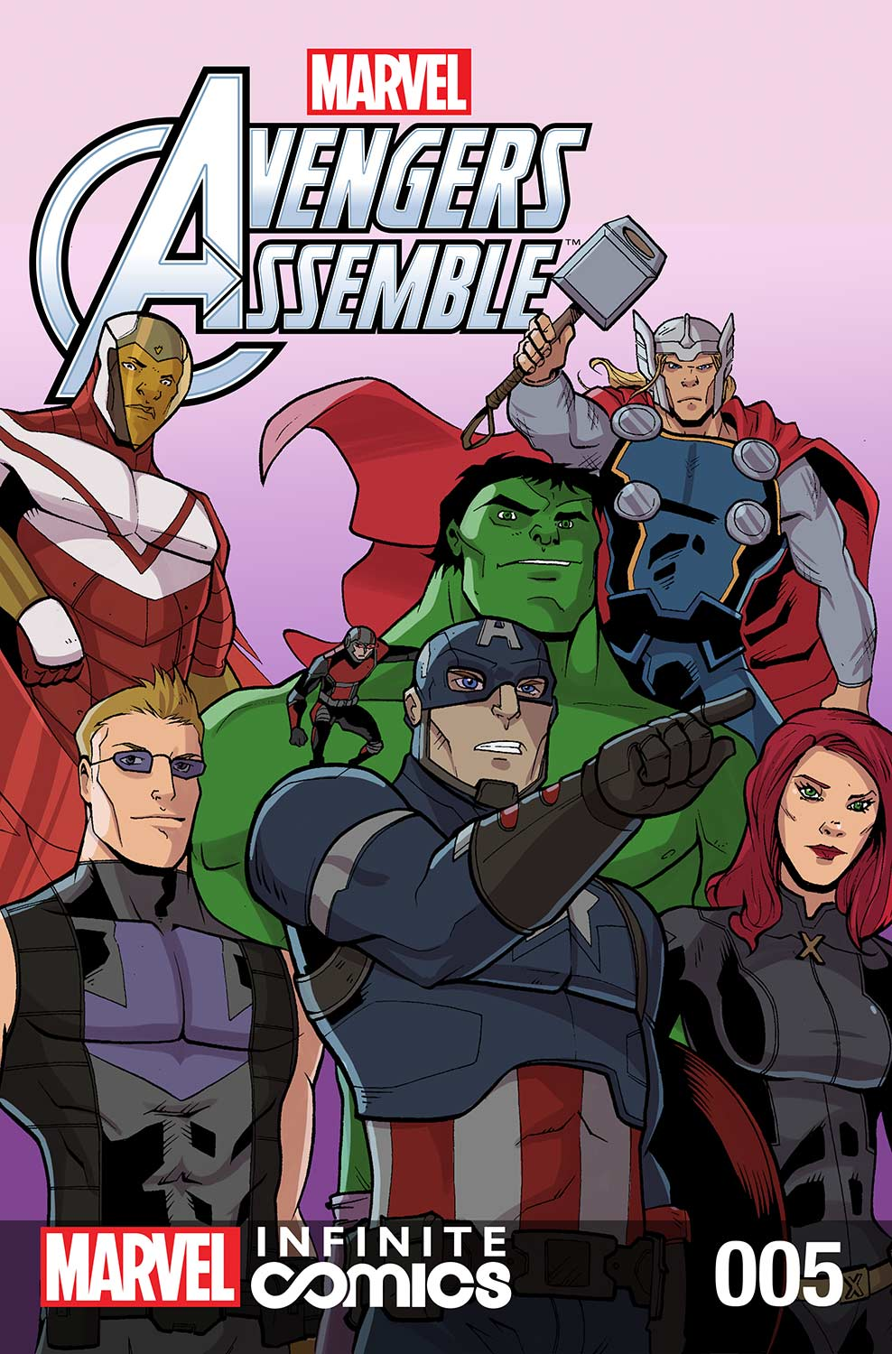Marvel Avengers Assemble Infinite Comic (2016) #5
