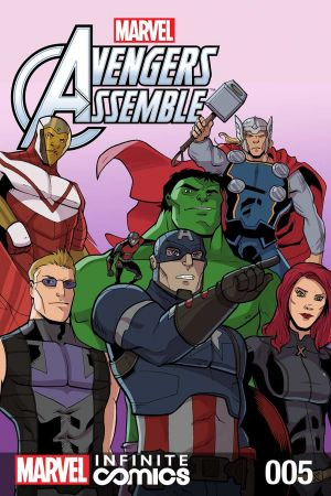 Marvel Universe Avengers: TBD Infinite Comic #5