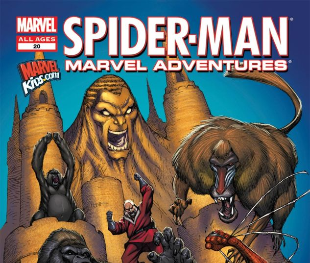 MARVEL ADVENTURES SPIDER-MAN (2010) #20 Cover
