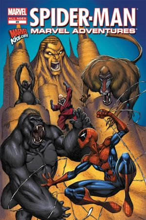 Spider-Man Marvel Adventures #20