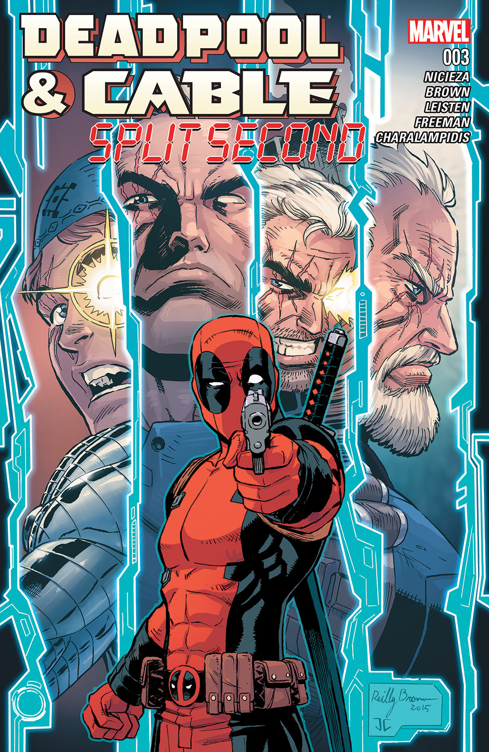 Deadpool & Cable: Split Second (2015) #3