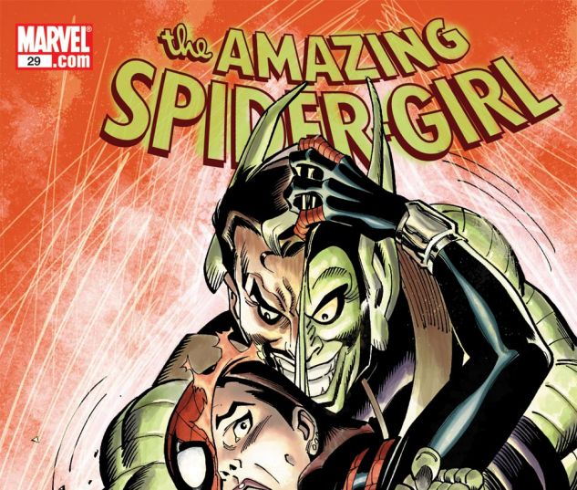 AMAZING SPIDER-GIRL (2006) #29 Cover