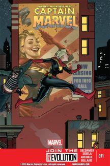 Captain Marvel (2012) #11