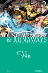 CIVIL WAR: YOUNG AVENGERS & RUNAWAYS (2006) #2 Cover