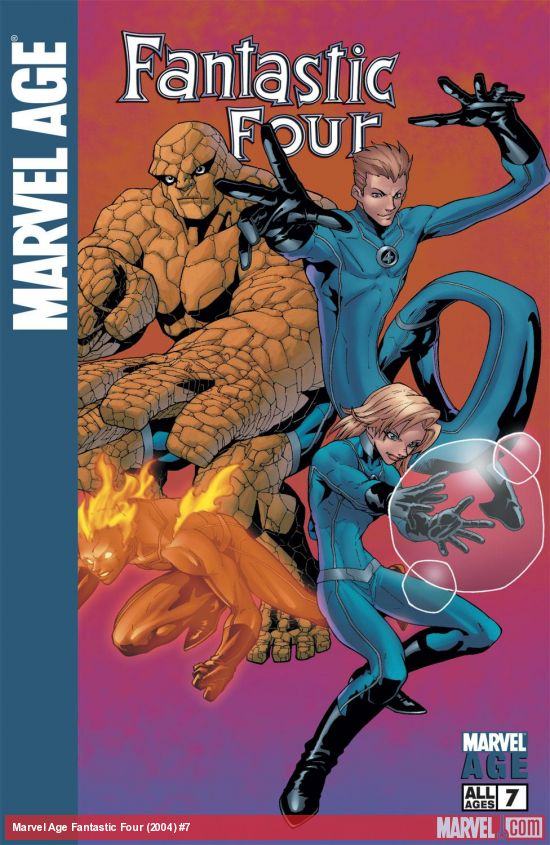 Marvel Age Fantastic Four (2004) #7