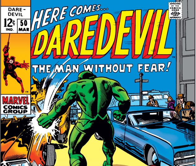 DAREDEVIL (1964) #50 Cover