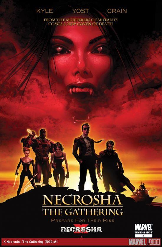 X Necrosha: The Gathering (2009) #1
