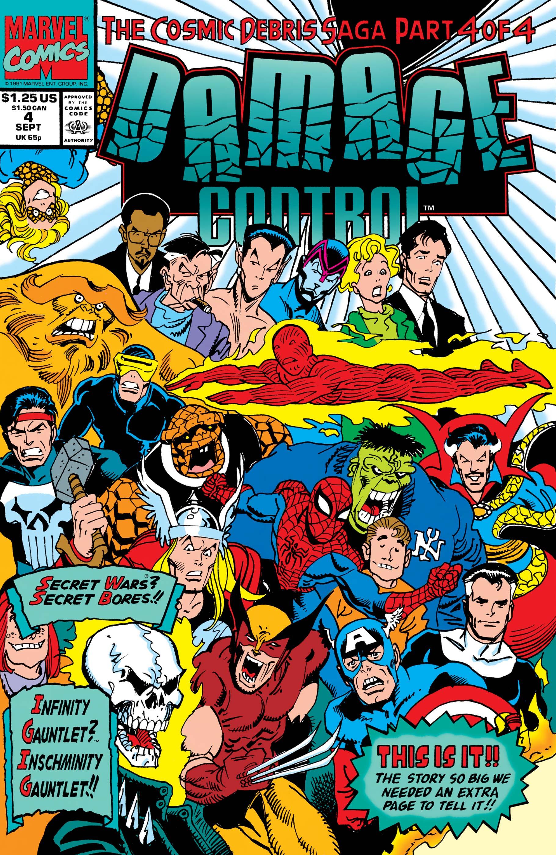 Damage Control (1991) #4