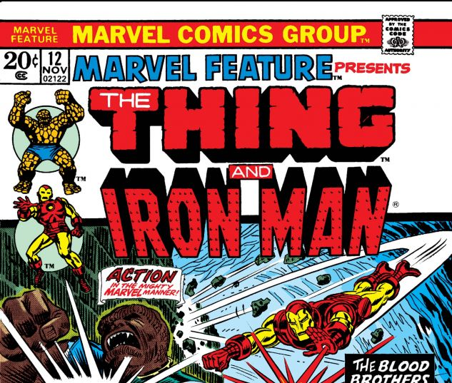 MARVEL FEATURE (1971) #12