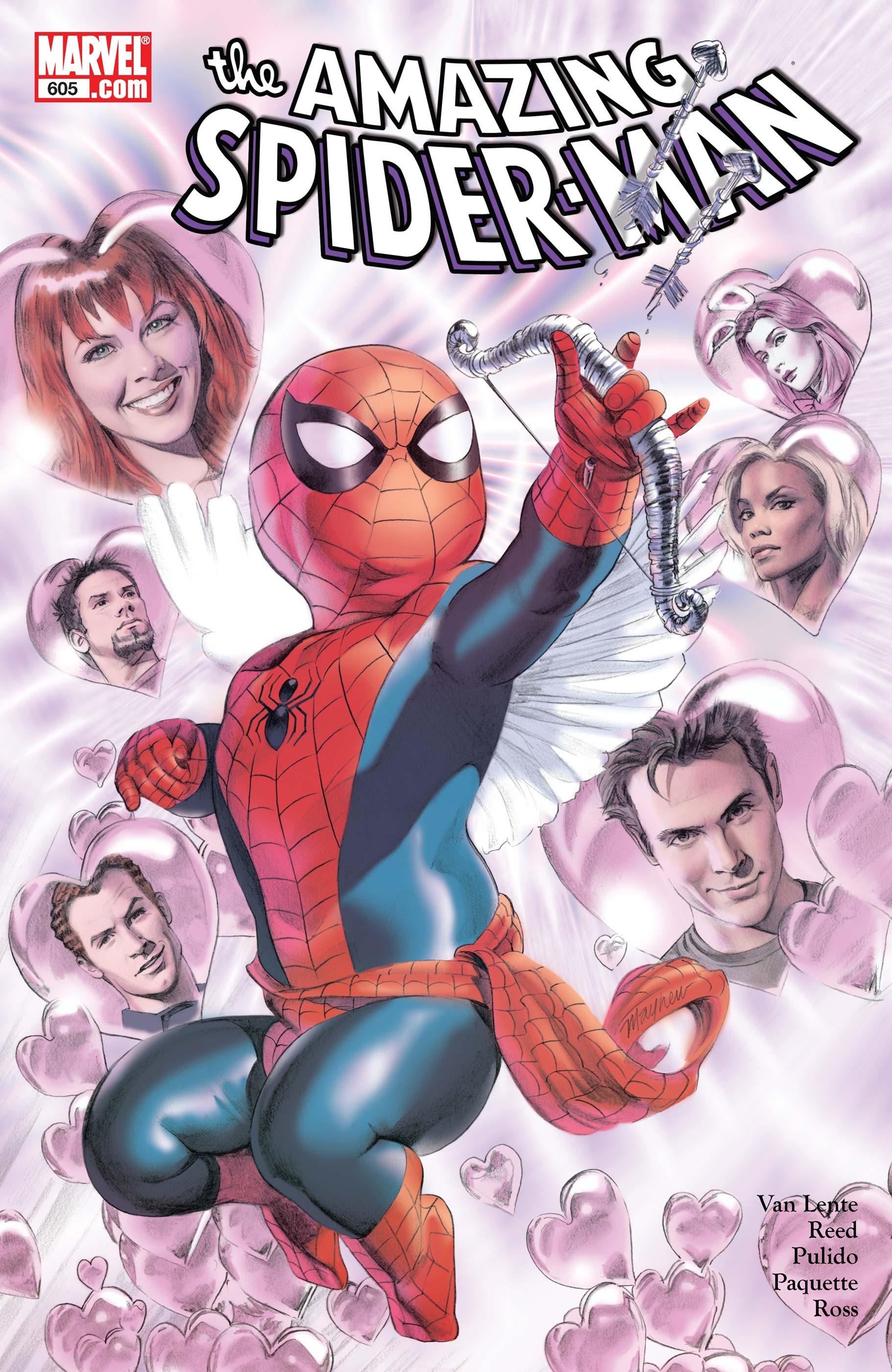 Marvel Amazing Spider-Man #605 Comic Book