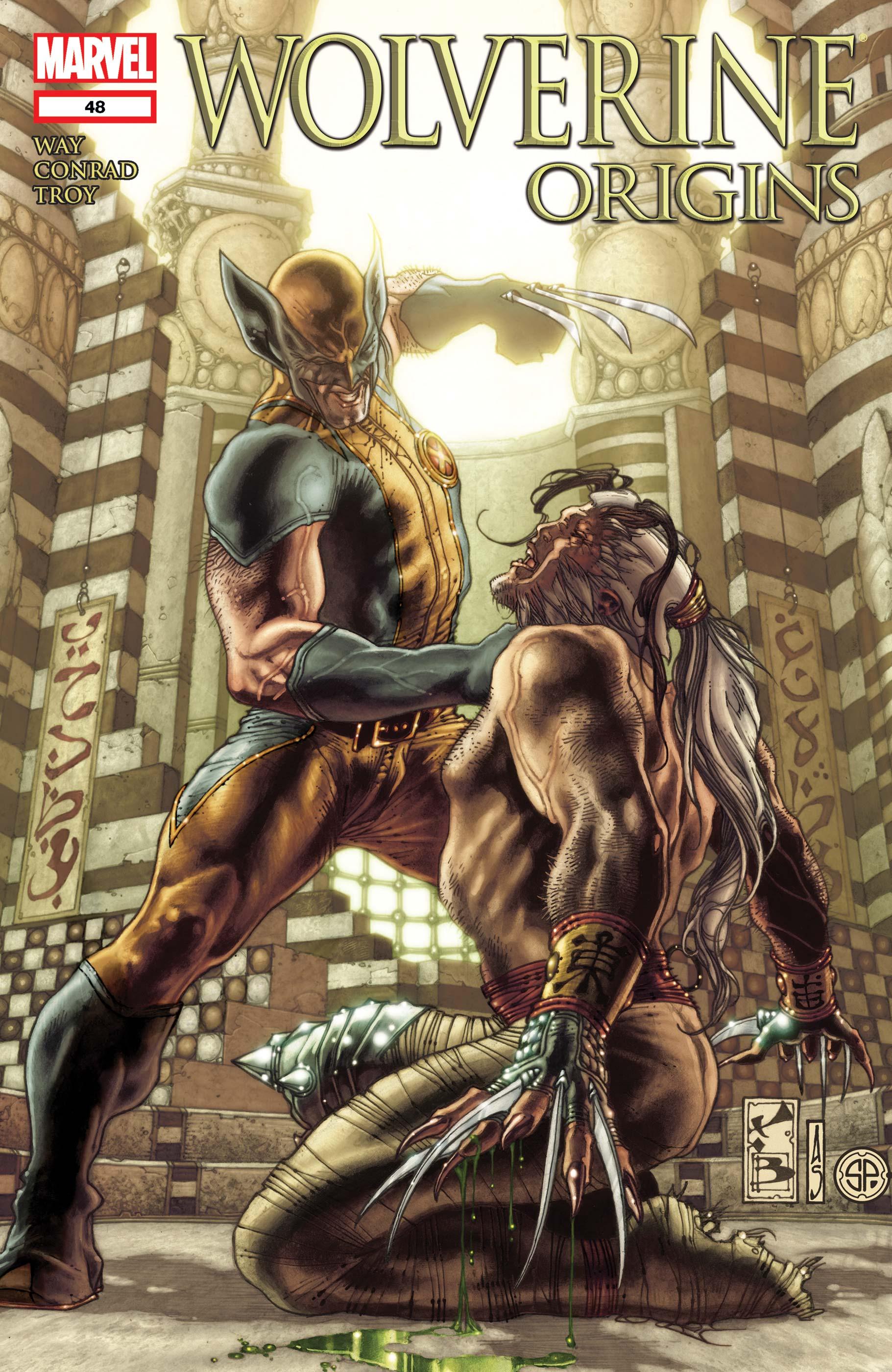 Wolverine Origins (2006) #48