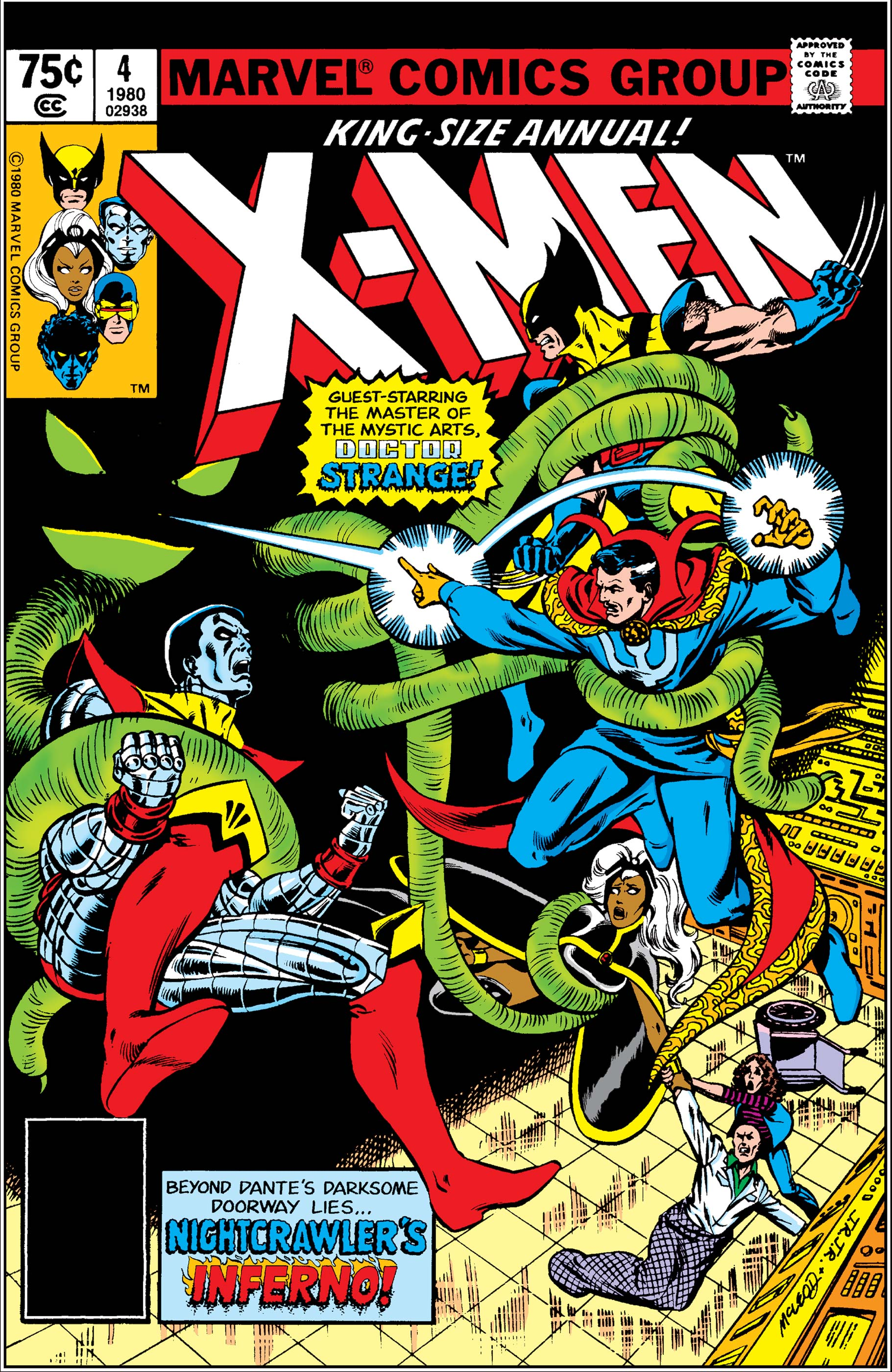 X-Men Annual (1970) #4