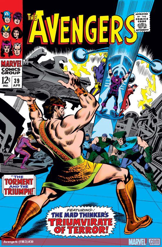 Avengers (1963) #39