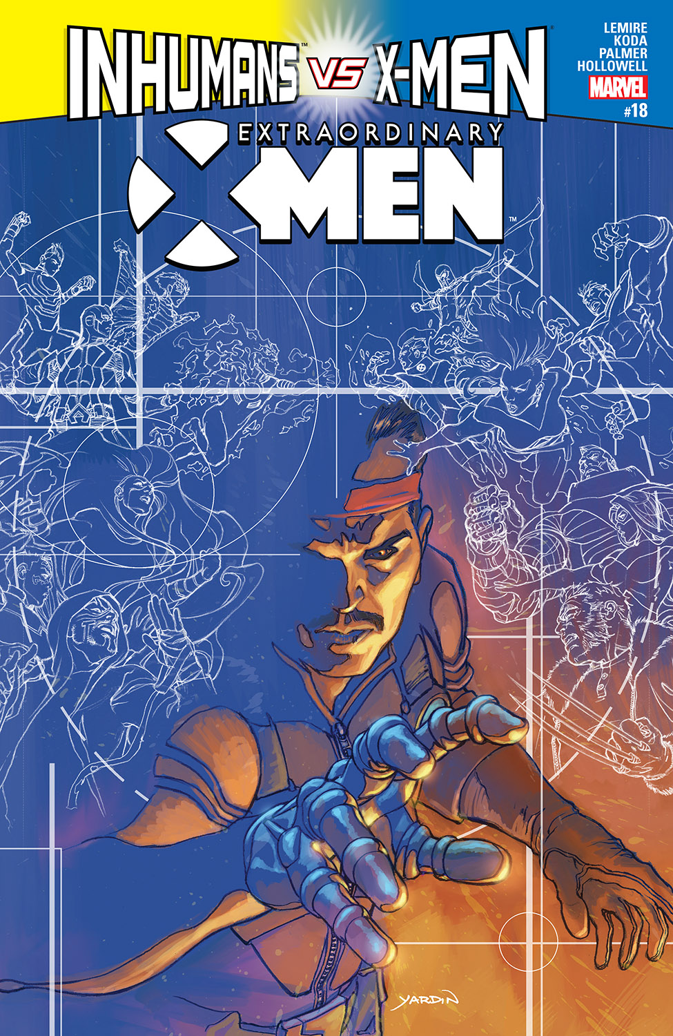Extraordinary X-Men (2015) #18