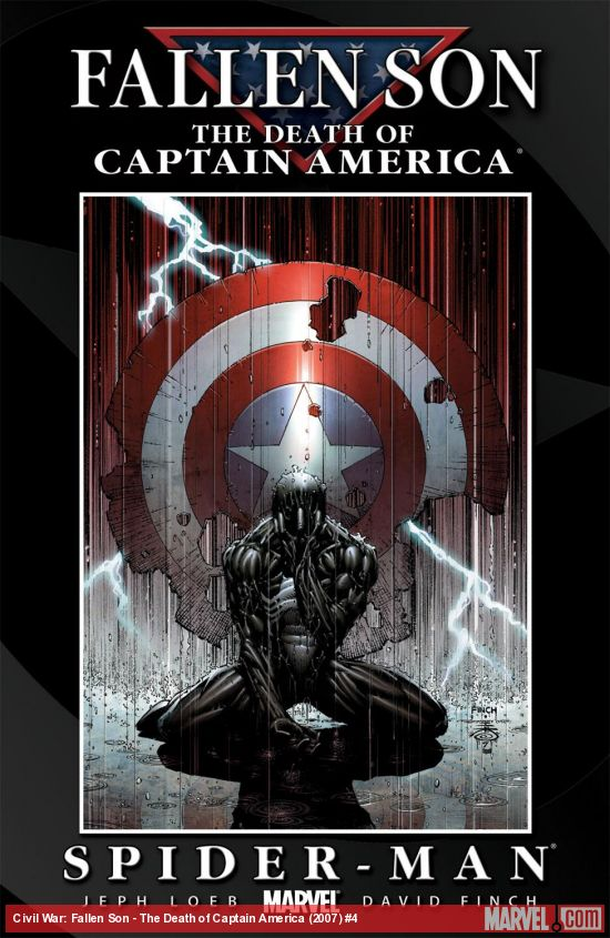 Civil War: Fallen Son - The Death of Captain America (2007) #4