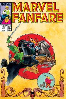 Marvel Fanfare (1982) #34