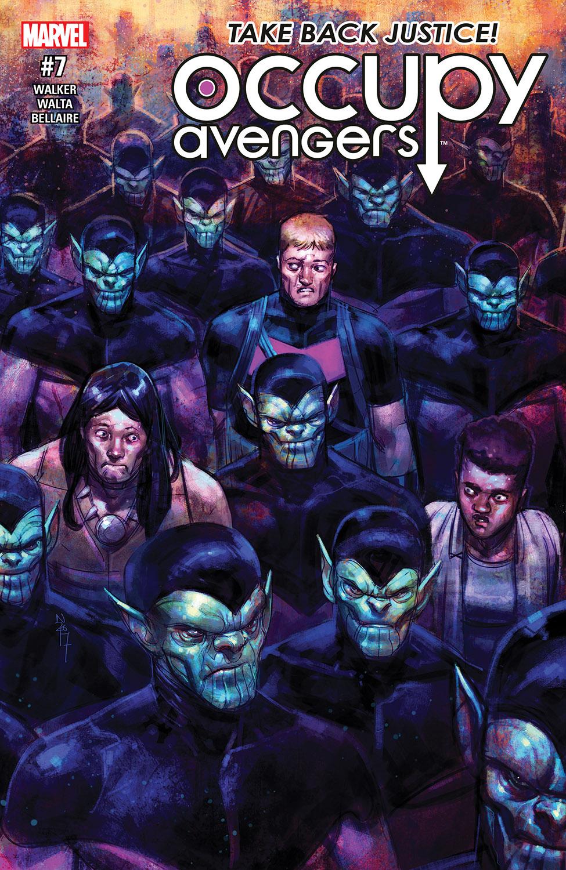 Occupy Avengers (2016) #7