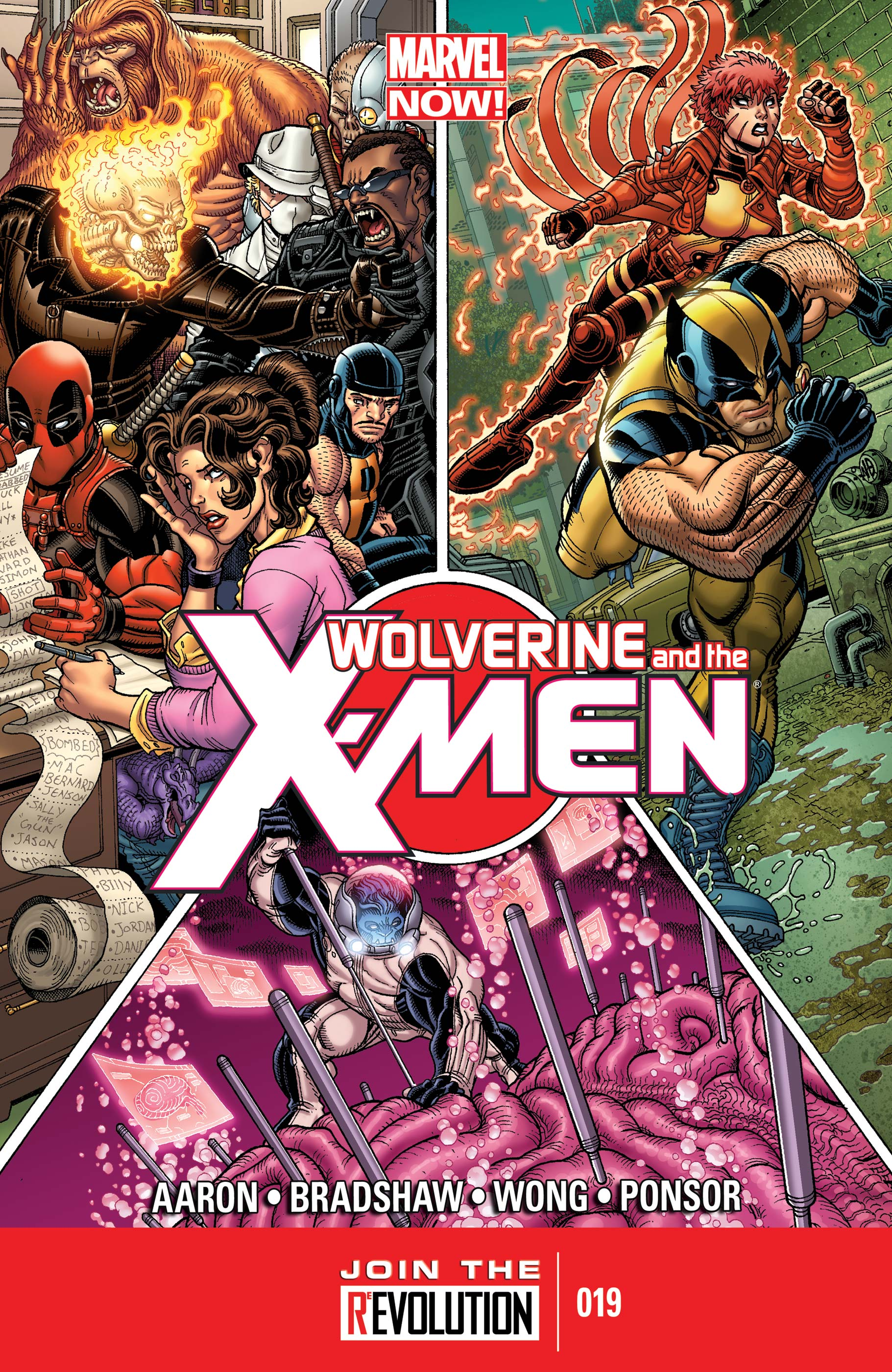 Wolverine & the X-Men (2011) #19