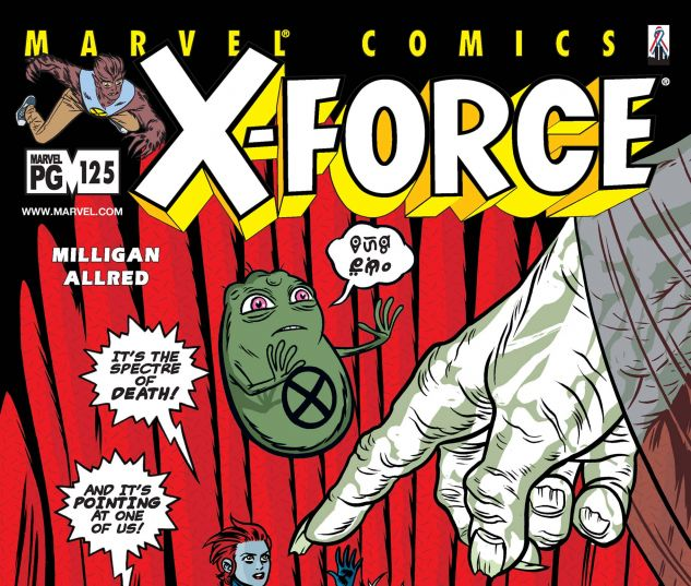 X-FORCE (1991) #125