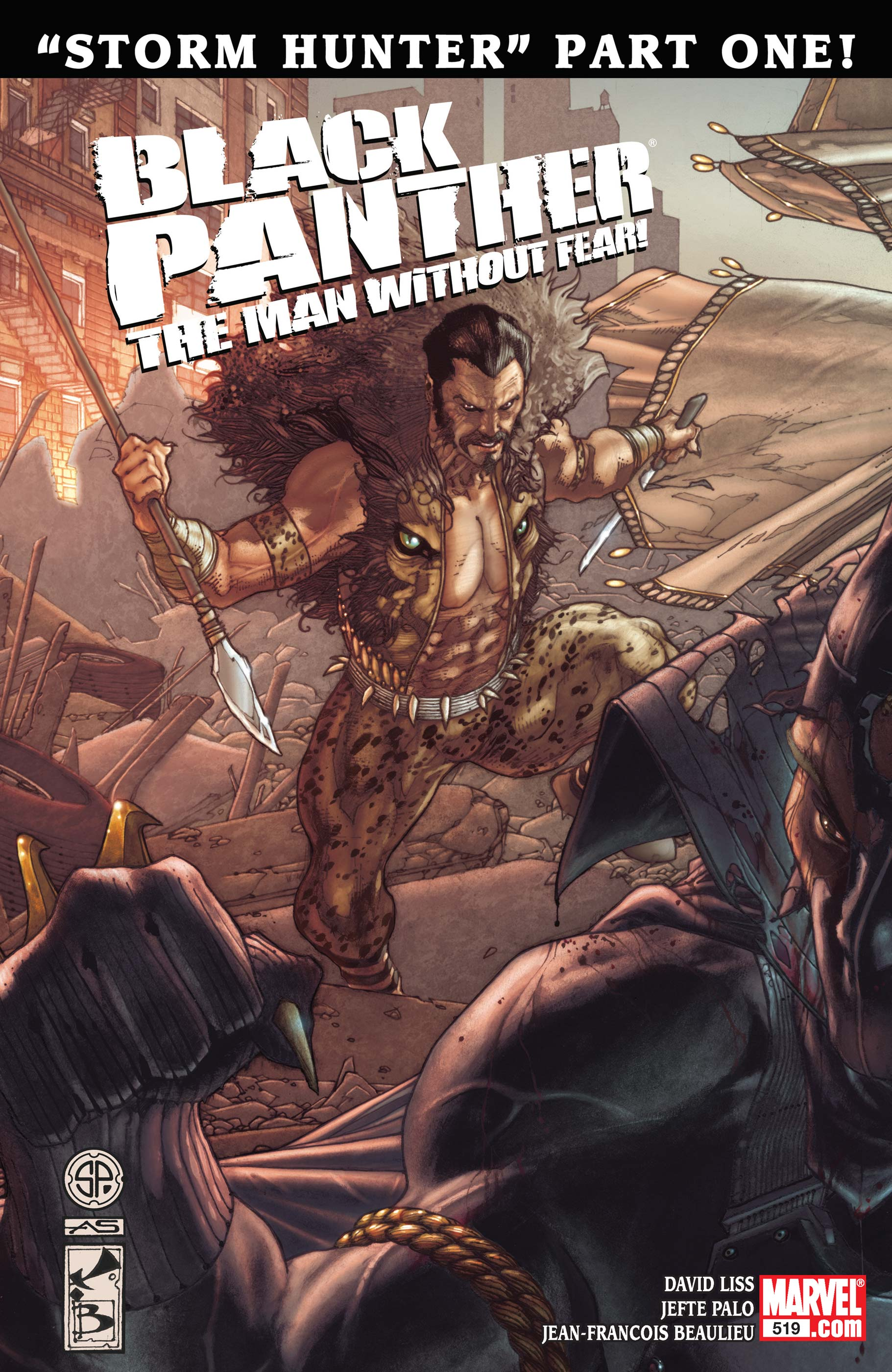 Black Panther: The Man Without Fear (2010) #519