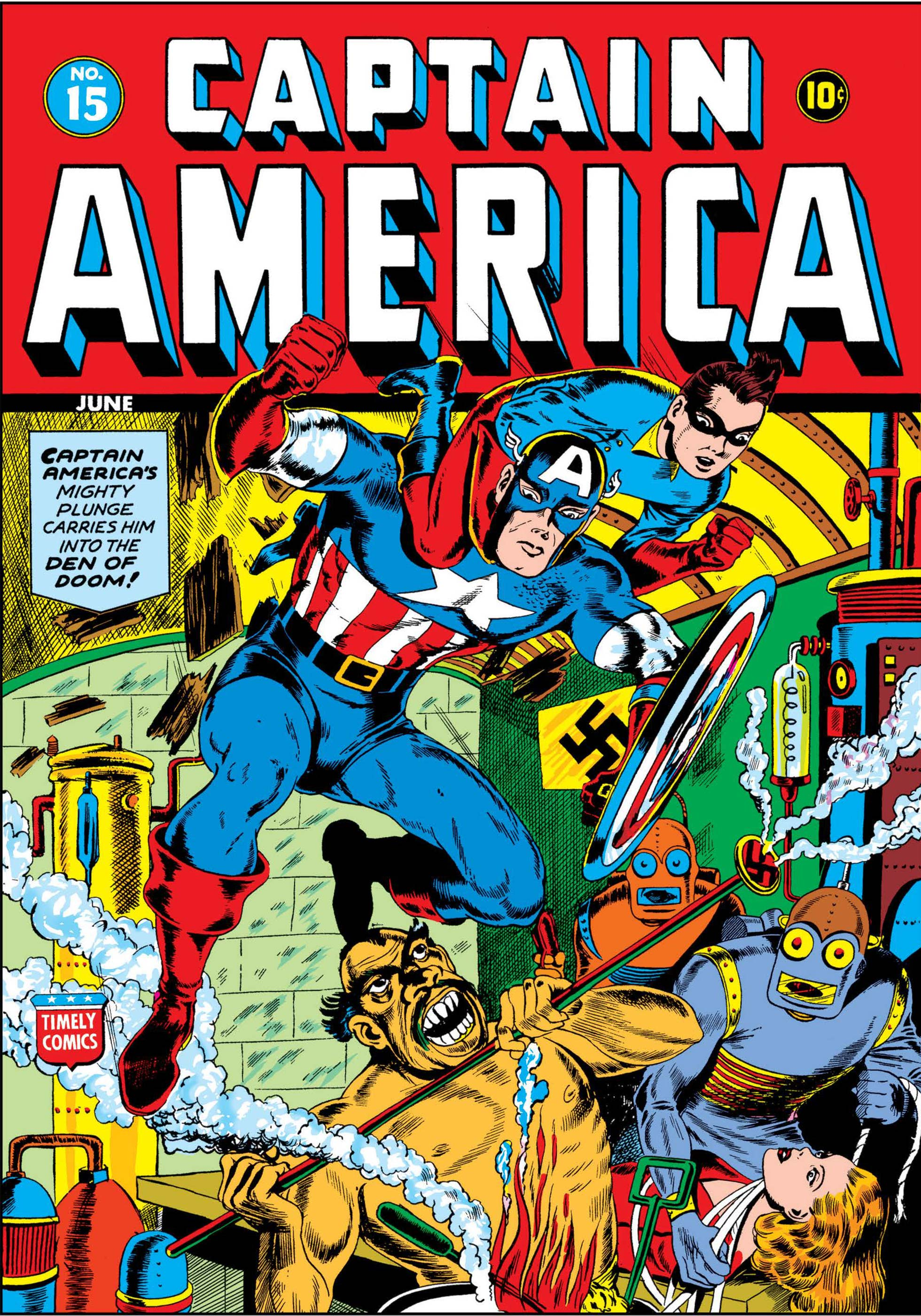 Captain America Comics (1941) #15