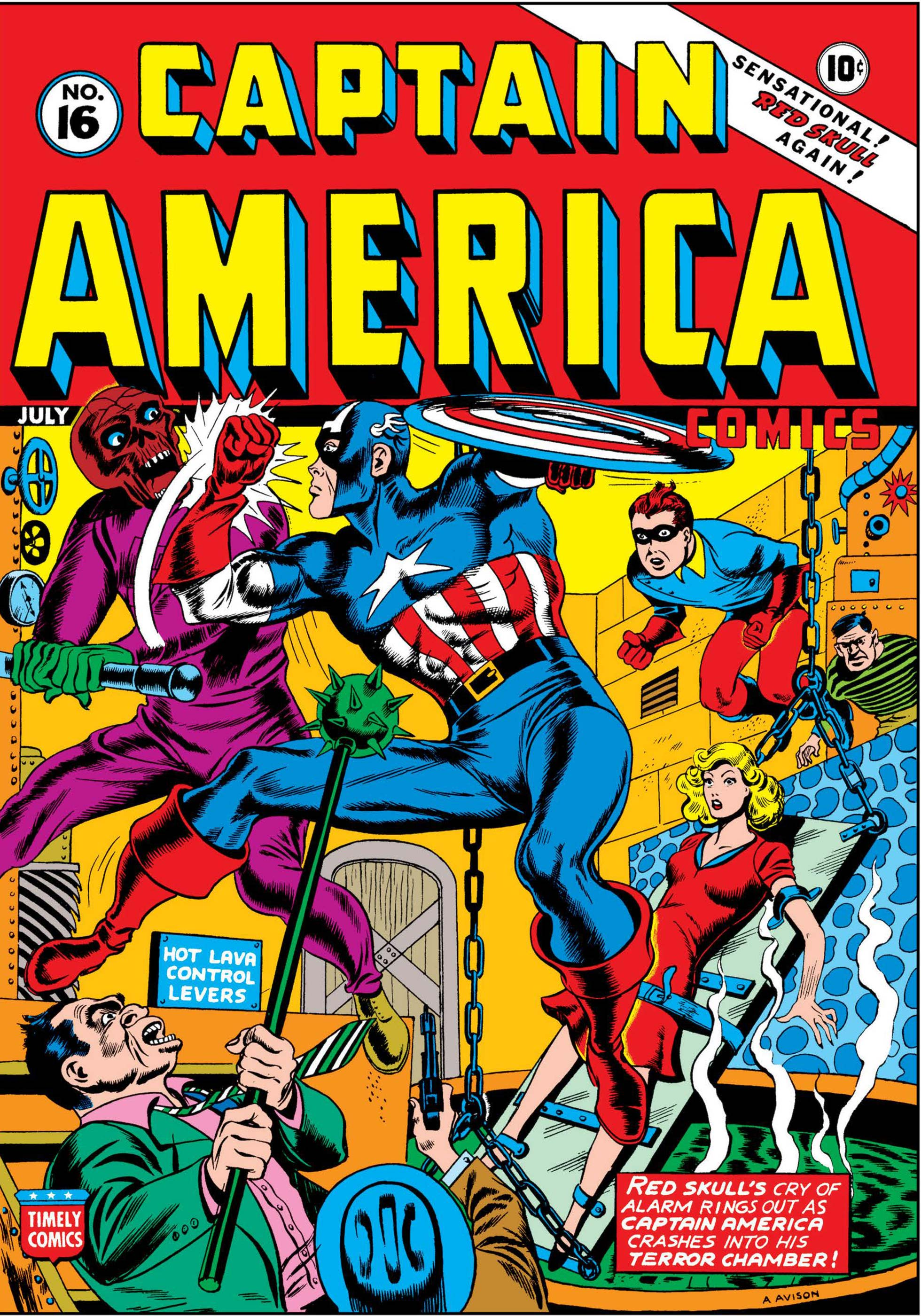 Captain America Comics (1941) #16