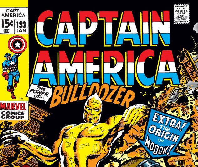 Captain America (1968) #133