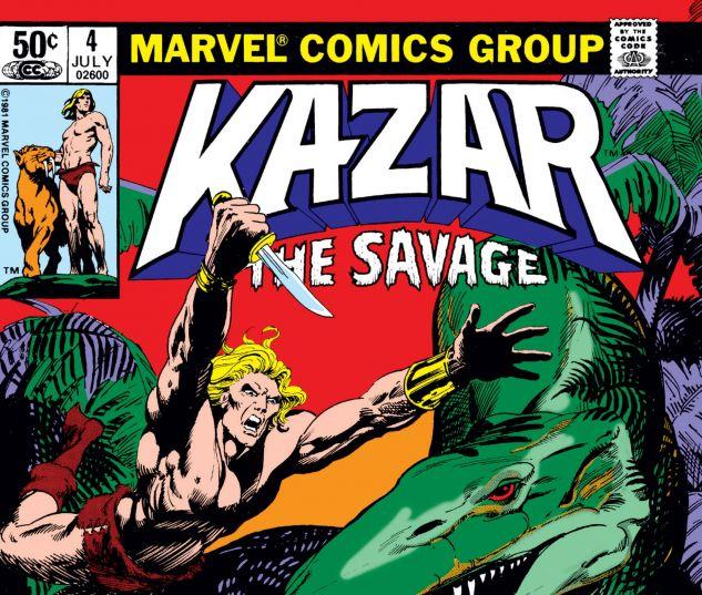 Cover Ka-zar 4