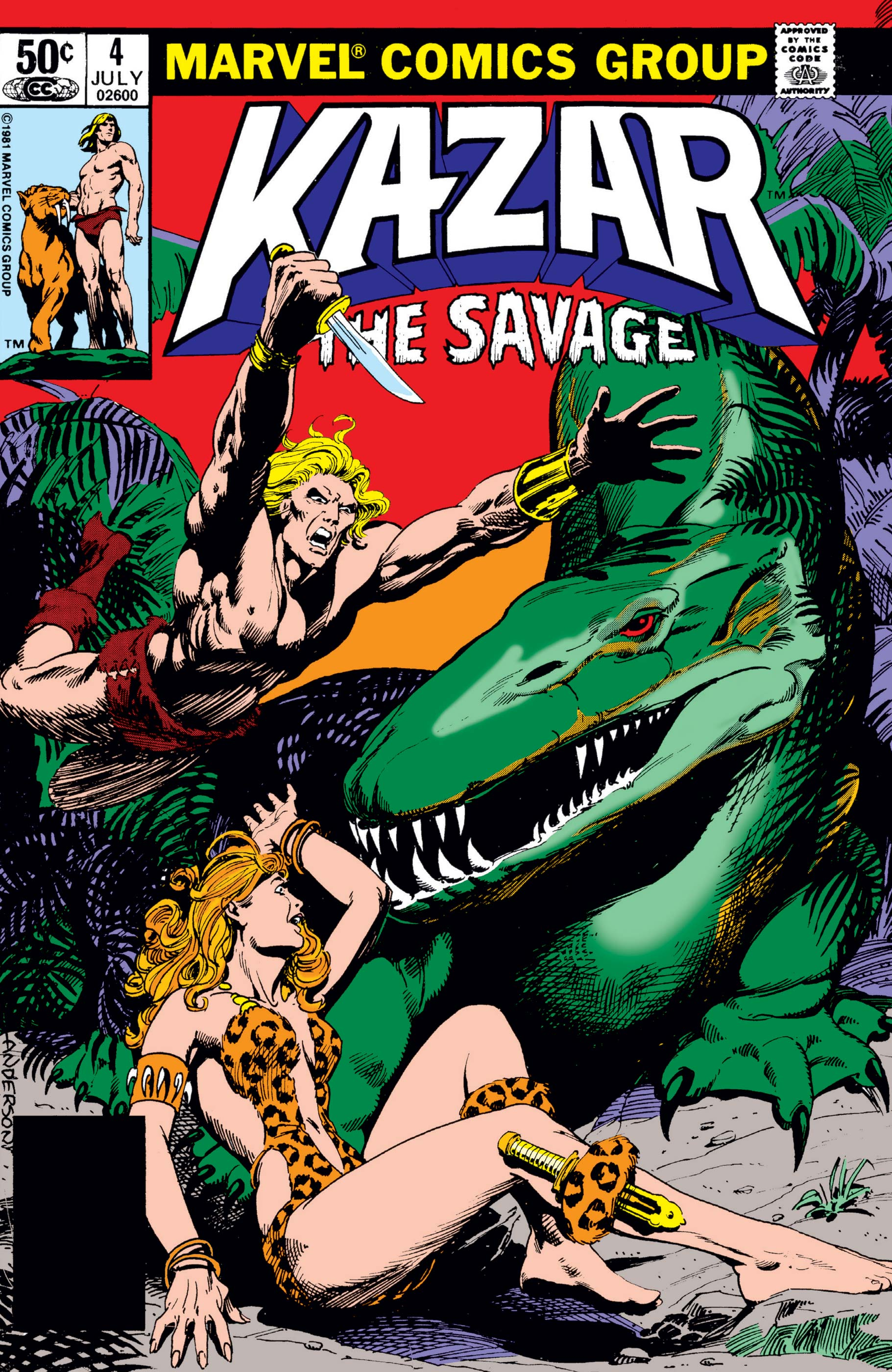 Ka-Zar the Savage (1981) #4
