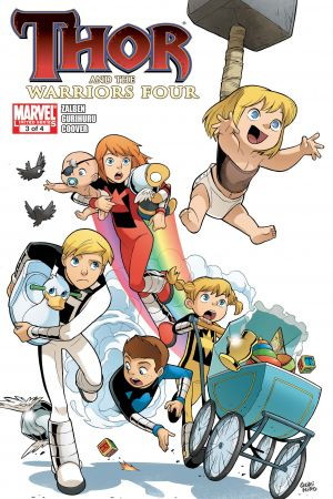 Thor and the Warriors Four #3