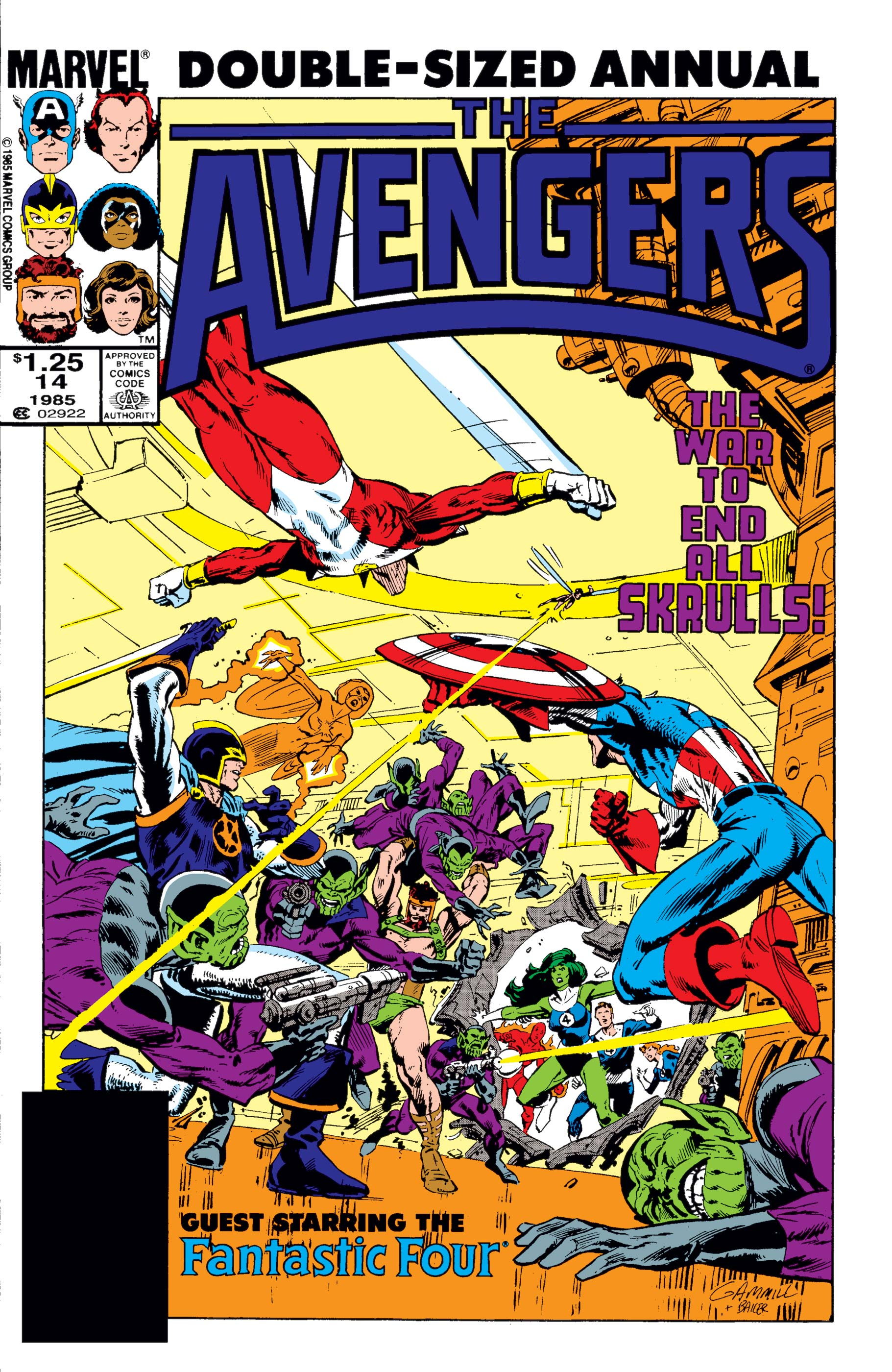 Avengers Annual (1967) #14