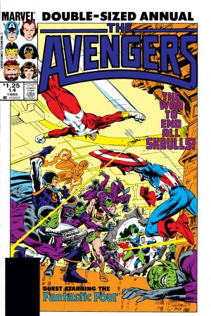 Avengers Annual (1967) #14