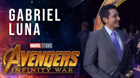 Gabriel Luna Live from the Avengers: Infinity Wa