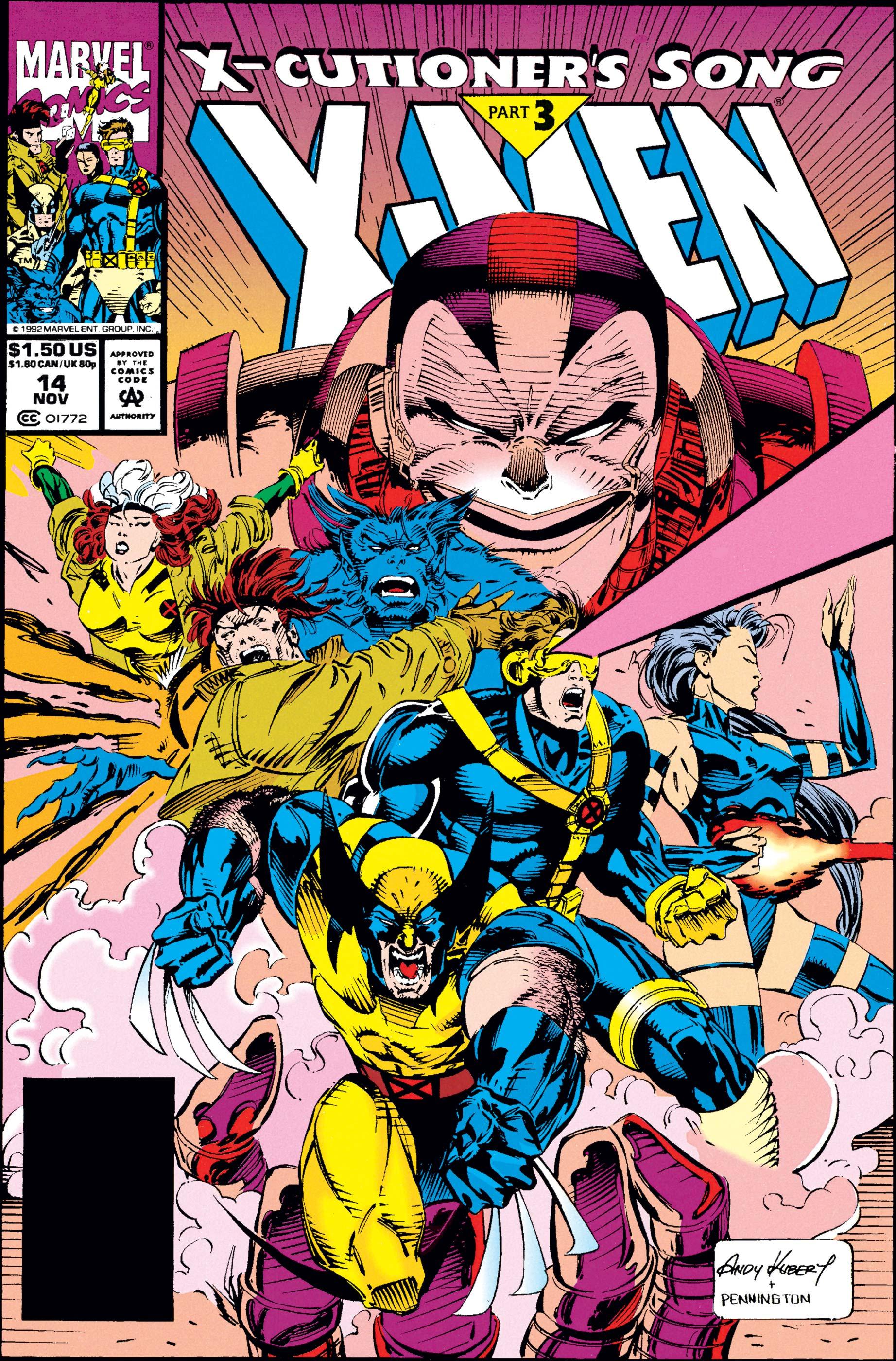 X-Men (1991) #14