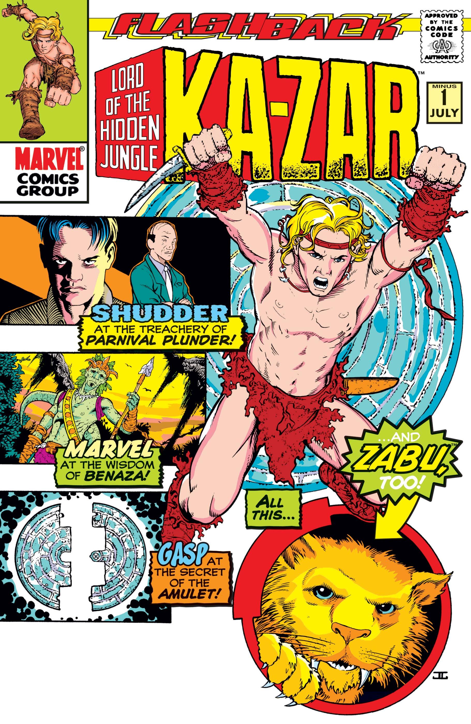 Ka-Zar (1997) #-1